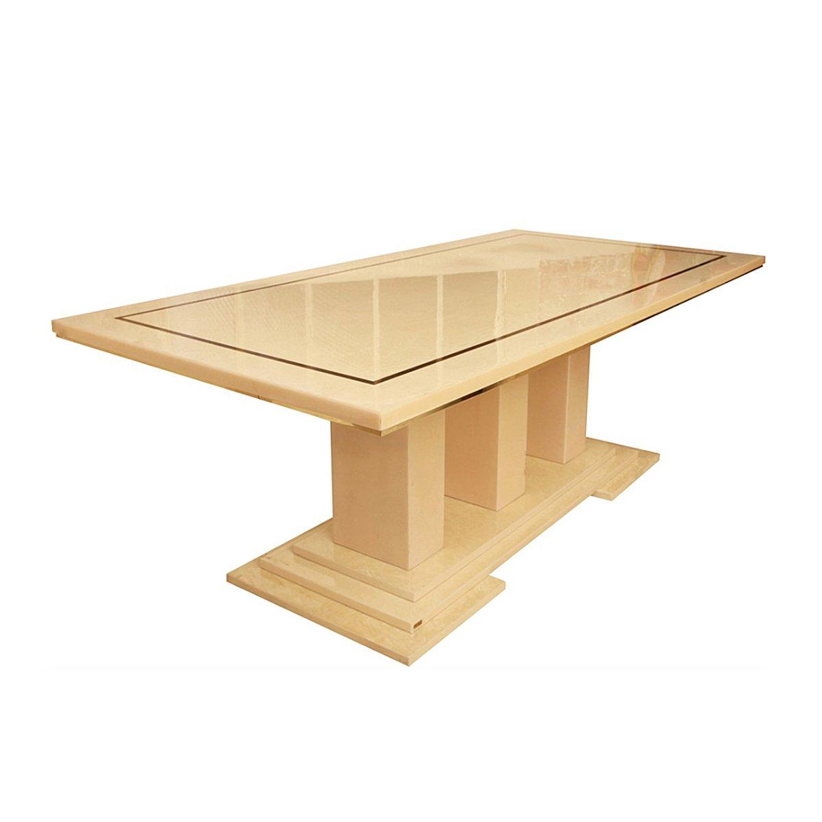 table de salle manger vintage par eric maville france. Black Bedroom Furniture Sets. Home Design Ideas