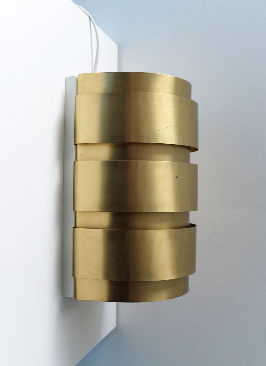 Vintage Messing V-155 Wandlampe von Hans-Agne Jakobsson AB Markaryd