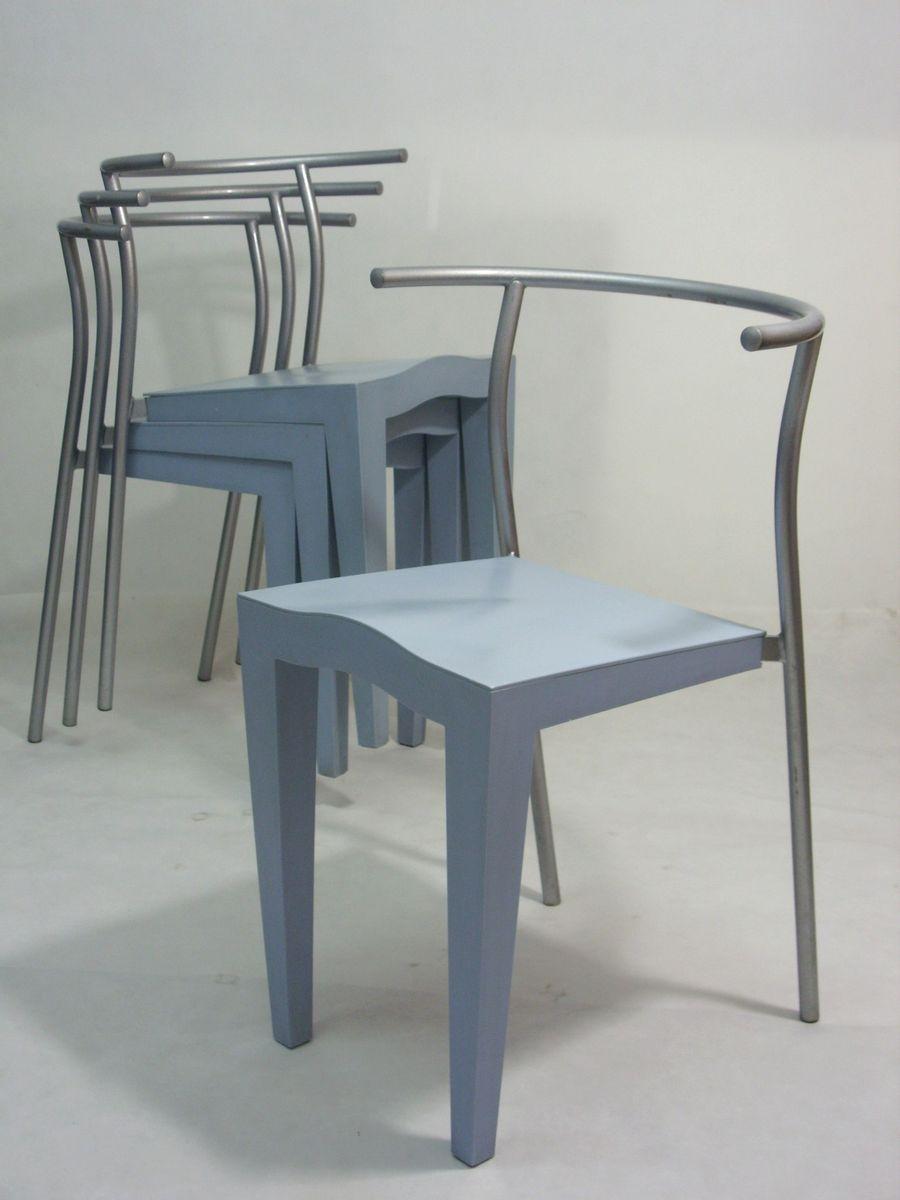 I Portacandele Di Philippe Starck Per Kartell : Sedie dr glob di philippe starck per kartell set