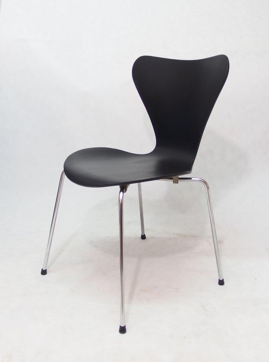 series 7 stuhl von arne jacobsen f r fritz hansen 1976 bei pamono kaufen. Black Bedroom Furniture Sets. Home Design Ideas