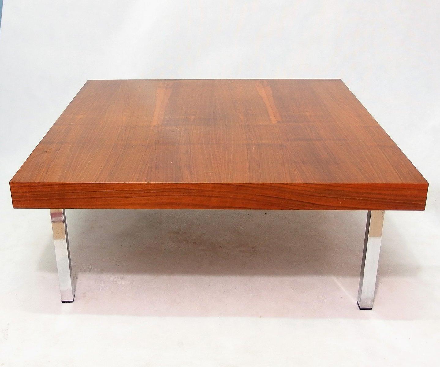 Niedriger Teak Tisch, 1960er