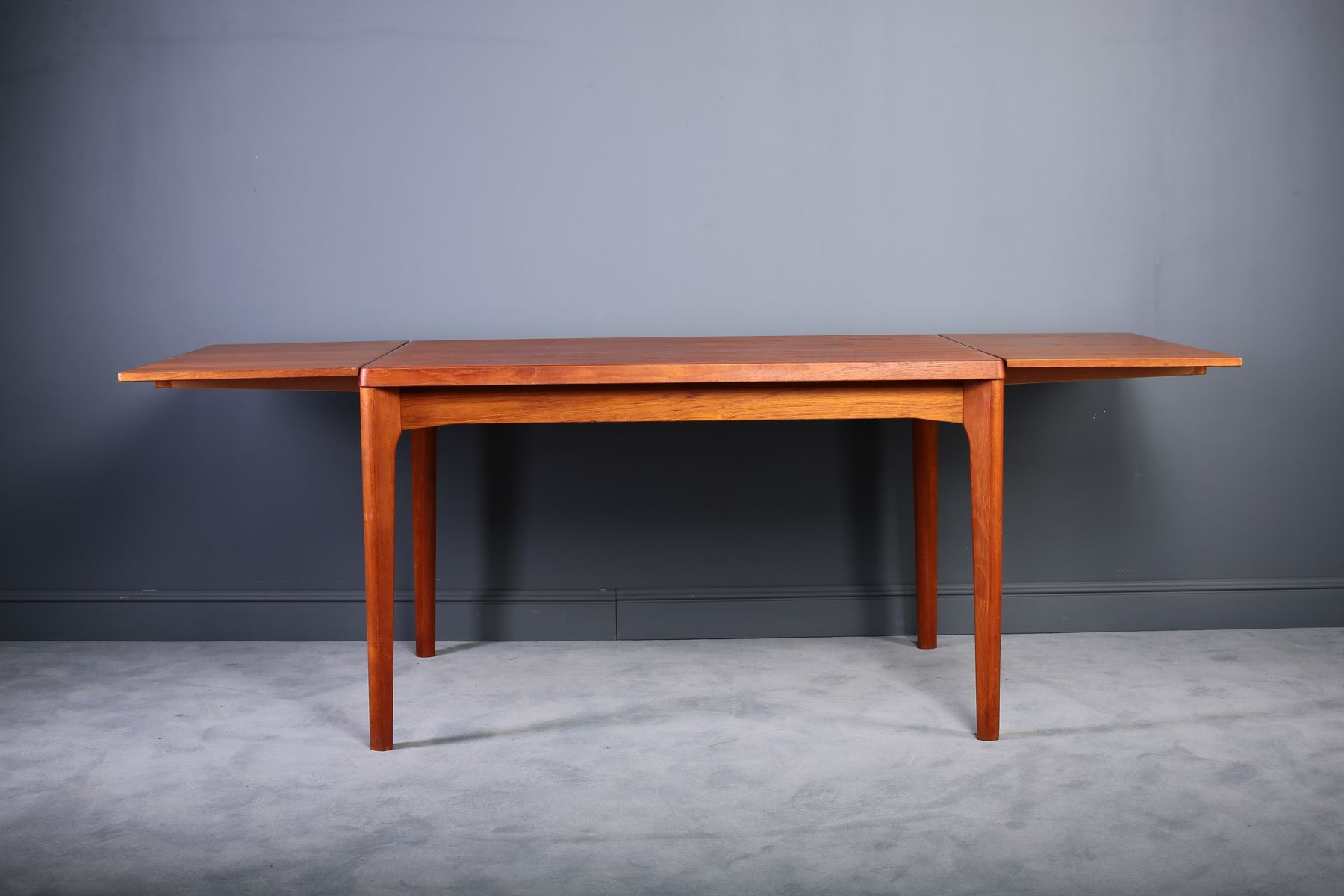 teakholz esstisch von henning kjaernulf f r vejle m belfabrik 1960er bei pamono kaufen. Black Bedroom Furniture Sets. Home Design Ideas