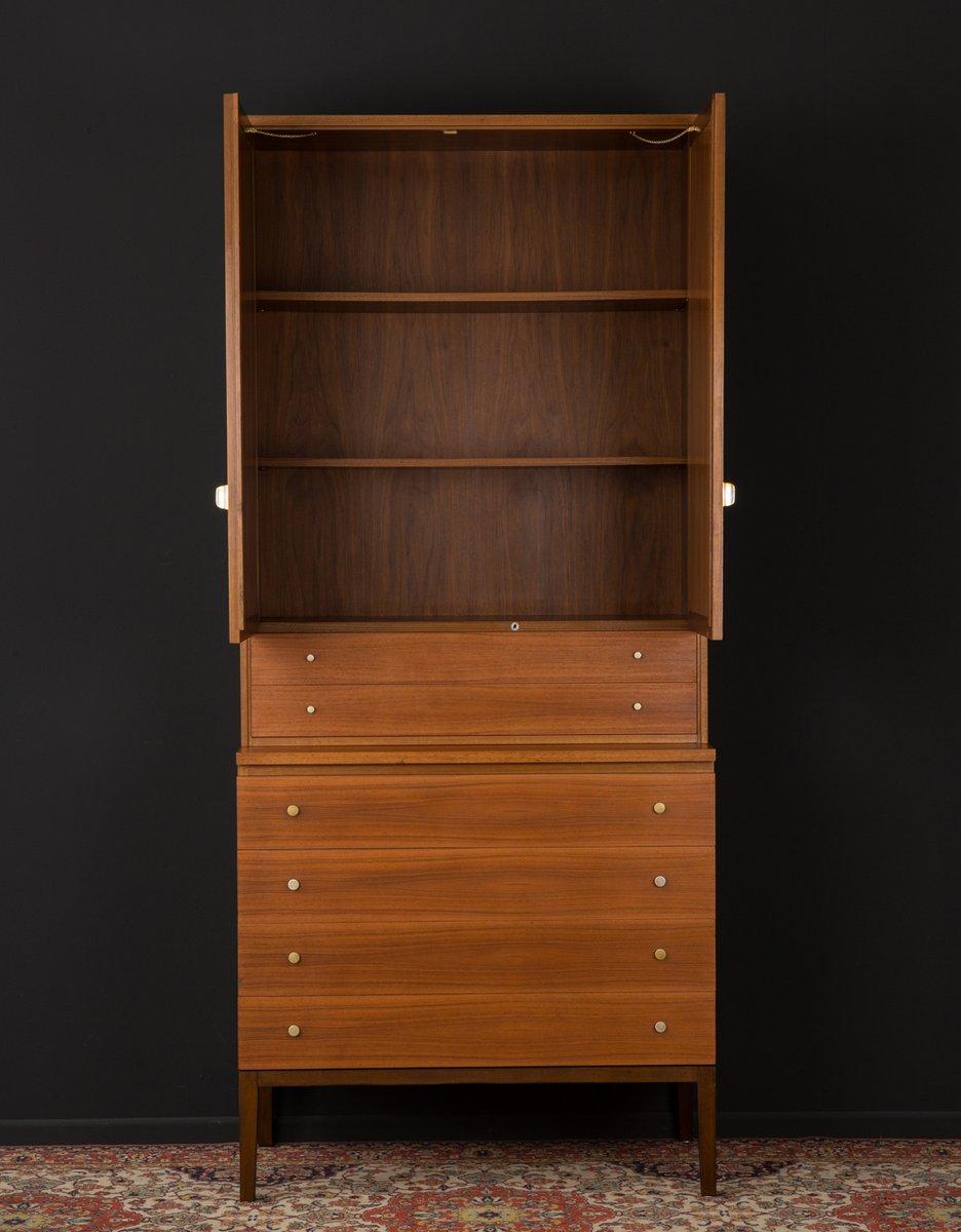 walnuss furnier schrank von wk m bel 1960er bei pamono kaufen. Black Bedroom Furniture Sets. Home Design Ideas