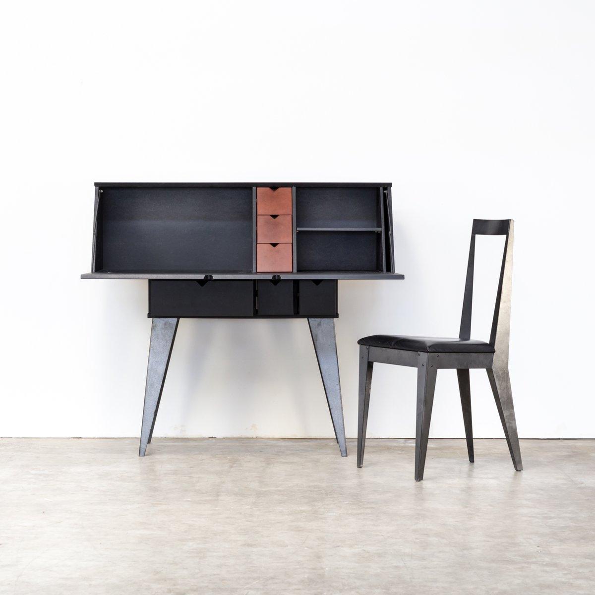 sekret r und stuhl von tjord bj rklund f r ikea 1990er bei pamono kaufen. Black Bedroom Furniture Sets. Home Design Ideas
