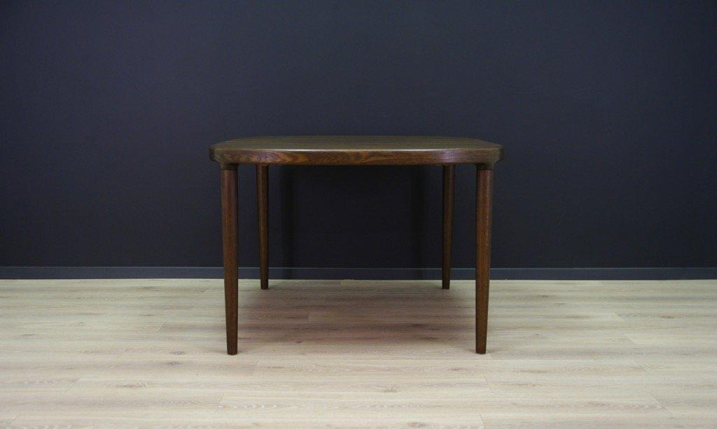 d nischee vintage eiche furnier esstisch bei pamono kaufen. Black Bedroom Furniture Sets. Home Design Ideas