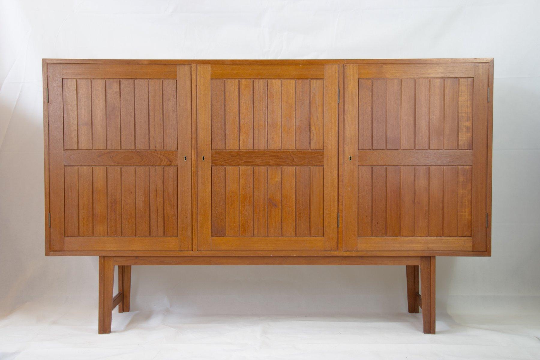 Dänisches Vintage Teak Sideboard von Kurt Ostervig für Vamo Möbelfabri...