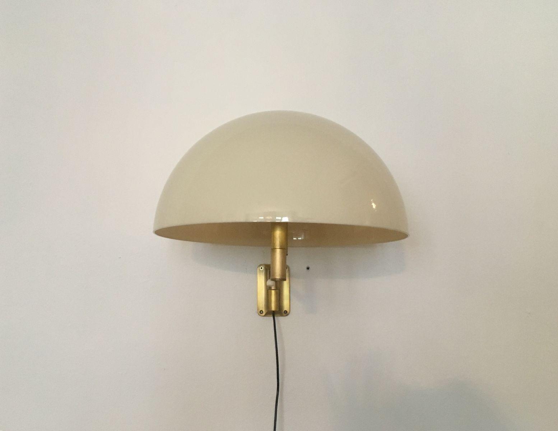 lampe murale articul e en laiton de staff 1960s en vente sur pamono. Black Bedroom Furniture Sets. Home Design Ideas