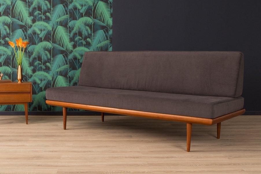 Vintage Sofa/ Schlafsofa von Peter Hvidt & Orla Mølgaard-Nielsen für F...