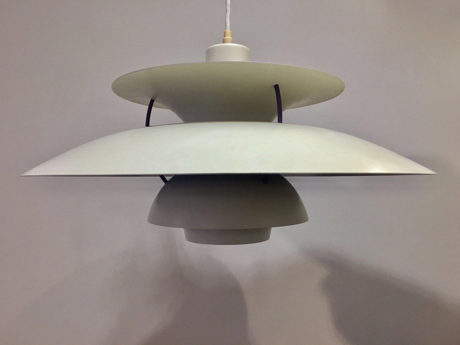 vintage ph5 h ngelampe lampe von poul henningsen f r fritz hansen bei pamono kaufen. Black Bedroom Furniture Sets. Home Design Ideas