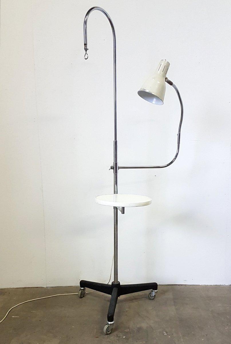 Vintage Arznei Ständer mit Lampe