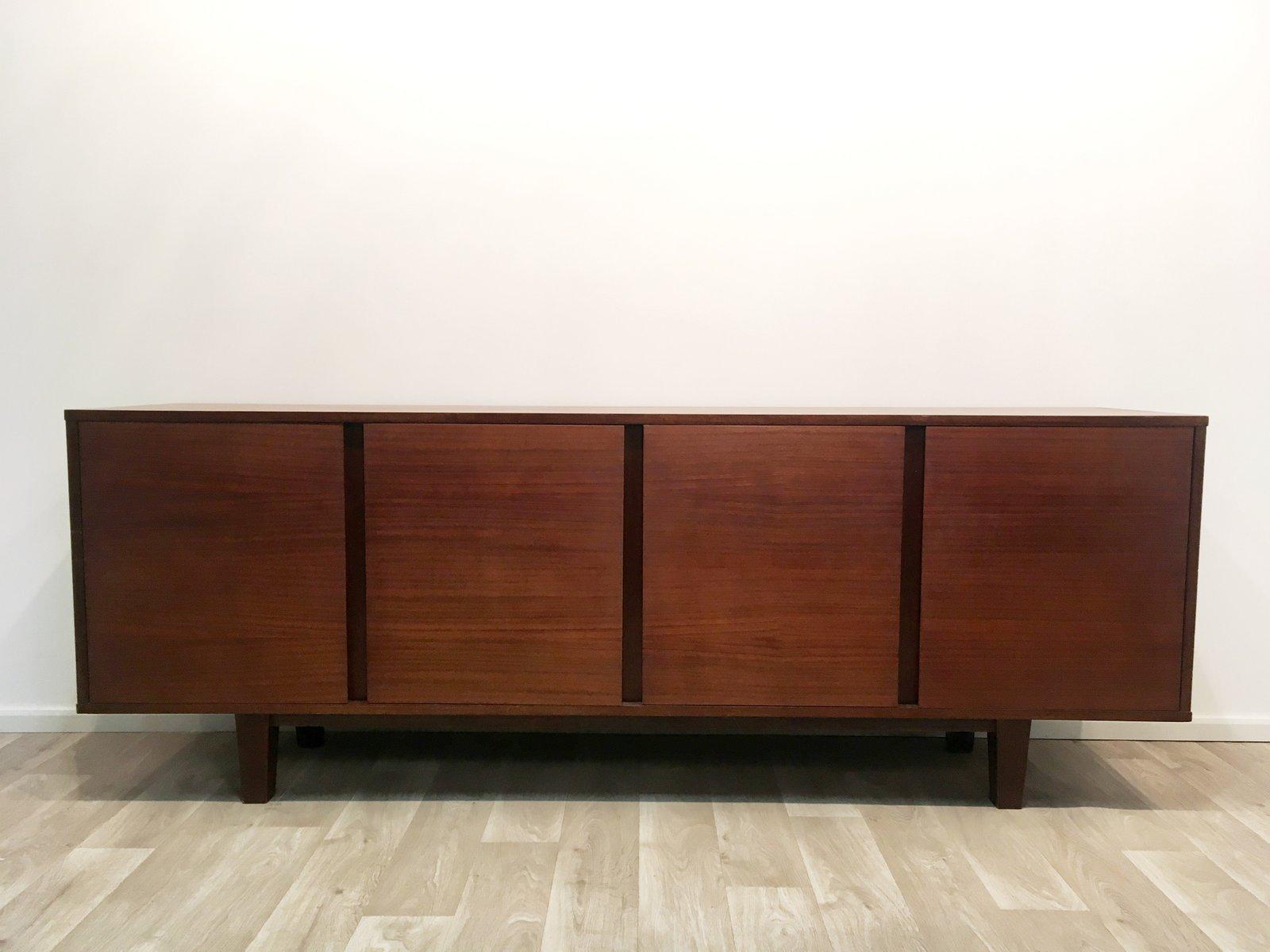 Vintage Mahagoni Sideboard von Dieter Wäckerlin für Behr, 1960er