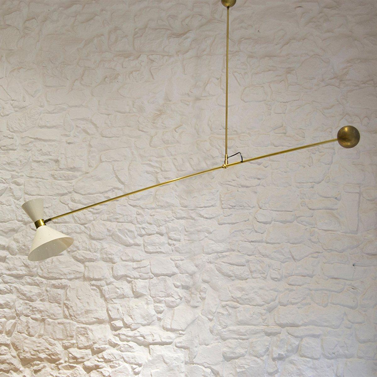 Gegengewicht Lampe, 1960er