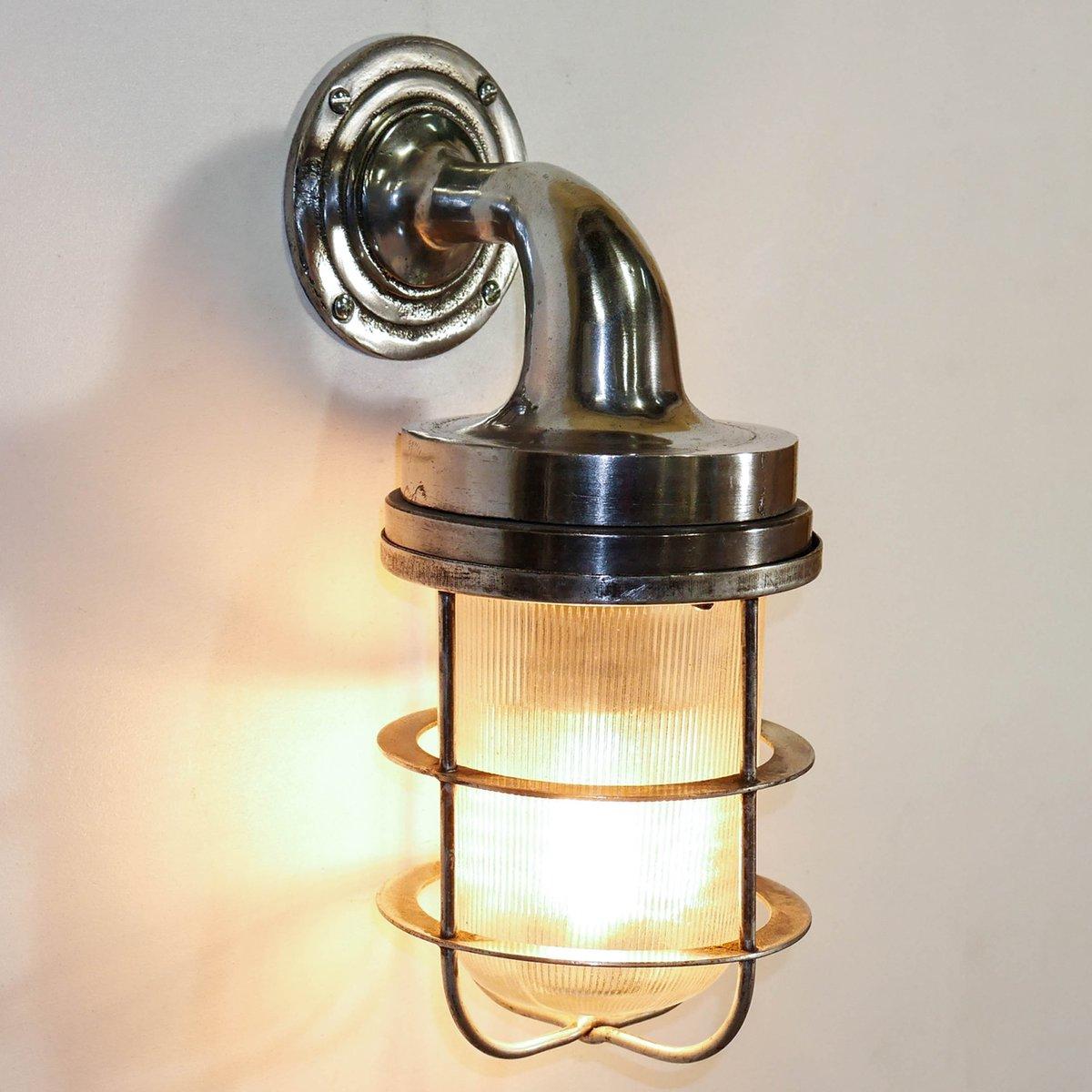 Industrielle vintage wandlampe bei pamono kaufen - Wandlampe vintage retro ...