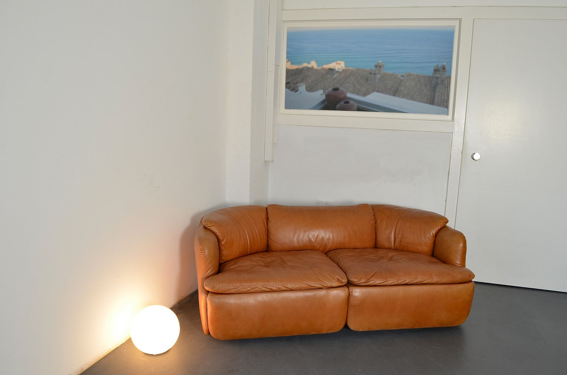 confidential zwei sitzer sofa von alberto roselli f r saporiti italia 1970er bei pamono kaufen. Black Bedroom Furniture Sets. Home Design Ideas