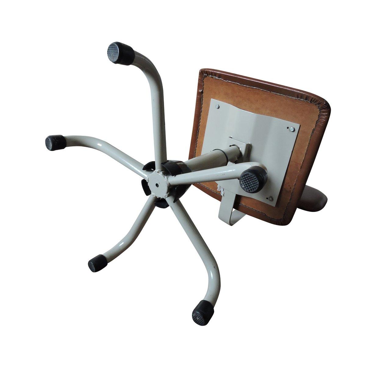 Chaise de bureau vintage bordeaux grise 1970s en vente sur pamono - Bureau virtuel bordeaux 3 ...