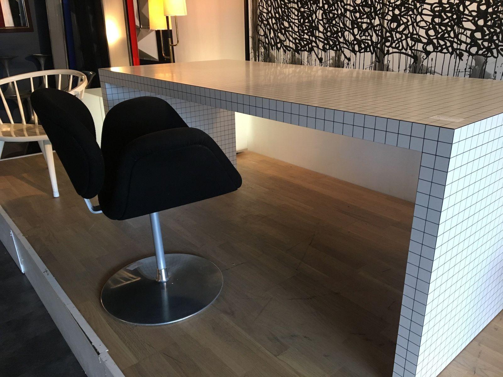 Bureau quaderna vintage par studio superego pour zanotta en vente