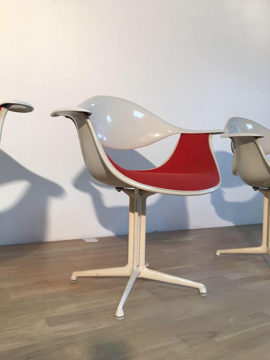 chaise d 39 appoint mod le la fonda par george nelson georges charles vanrijk pour herman miller. Black Bedroom Furniture Sets. Home Design Ideas