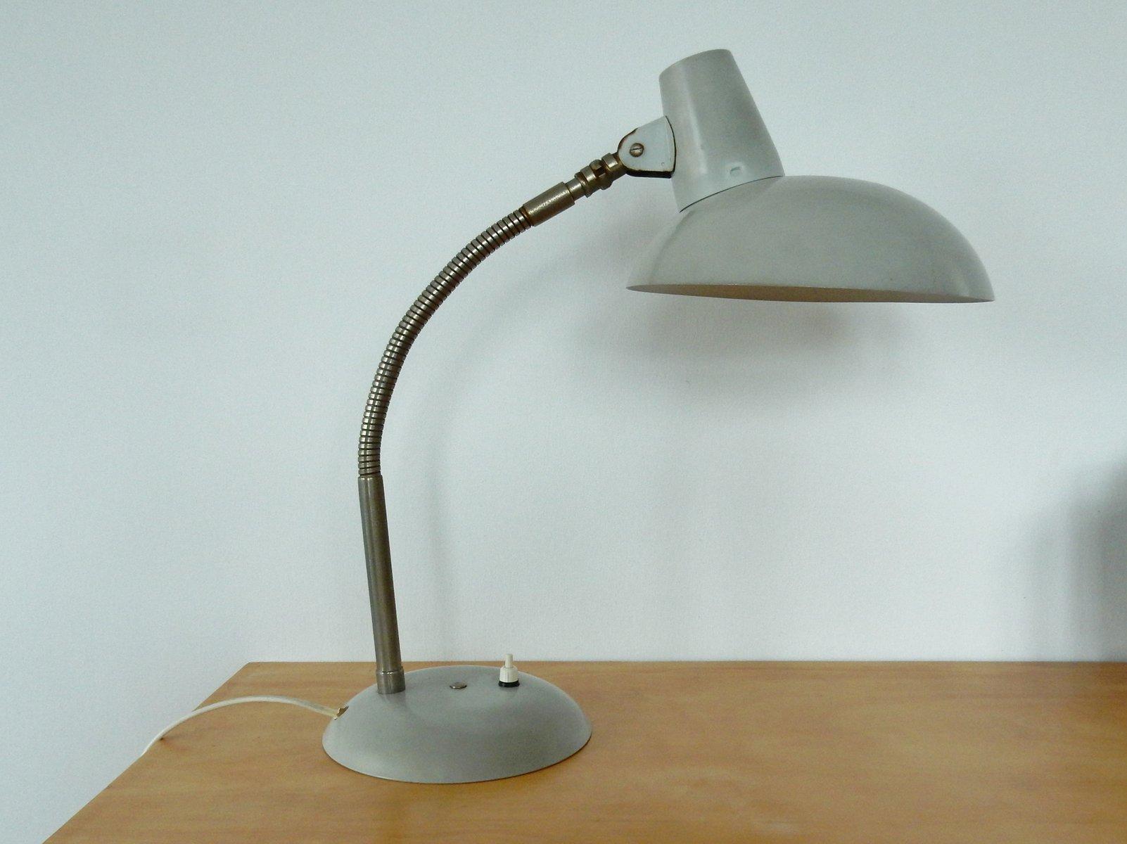 vintage bauhaus stil schreibtischlampe bei pamono kaufen. Black Bedroom Furniture Sets. Home Design Ideas
