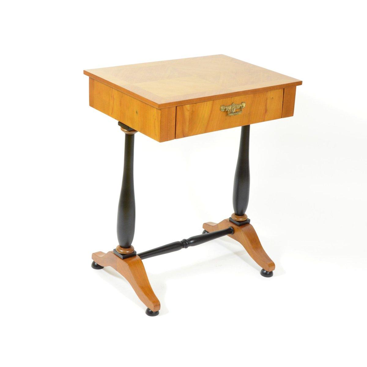 table de couture antique en merisier en vente sur pamono. Black Bedroom Furniture Sets. Home Design Ideas