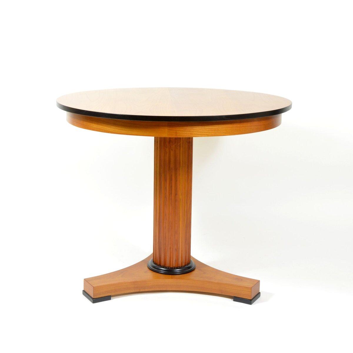 table de salon en merisier 1920s en vente sur pamono. Black Bedroom Furniture Sets. Home Design Ideas