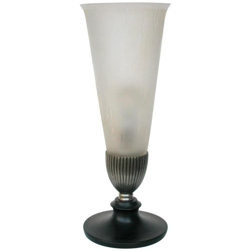 Französische Vintage Tischlampe, 1920er