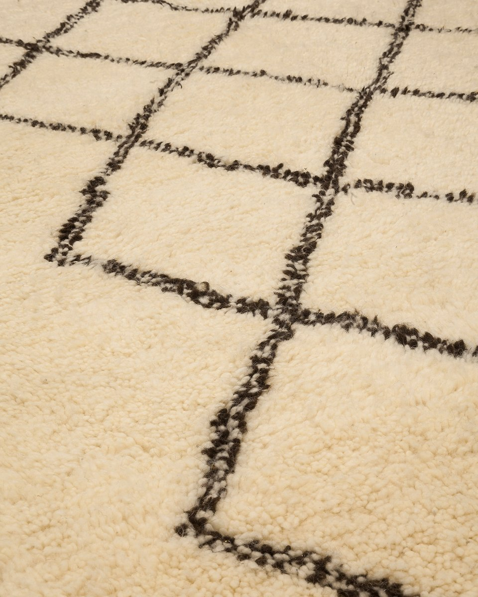 contemporary moroccan berber carpet from beni ouarain for sale at pamono. Black Bedroom Furniture Sets. Home Design Ideas