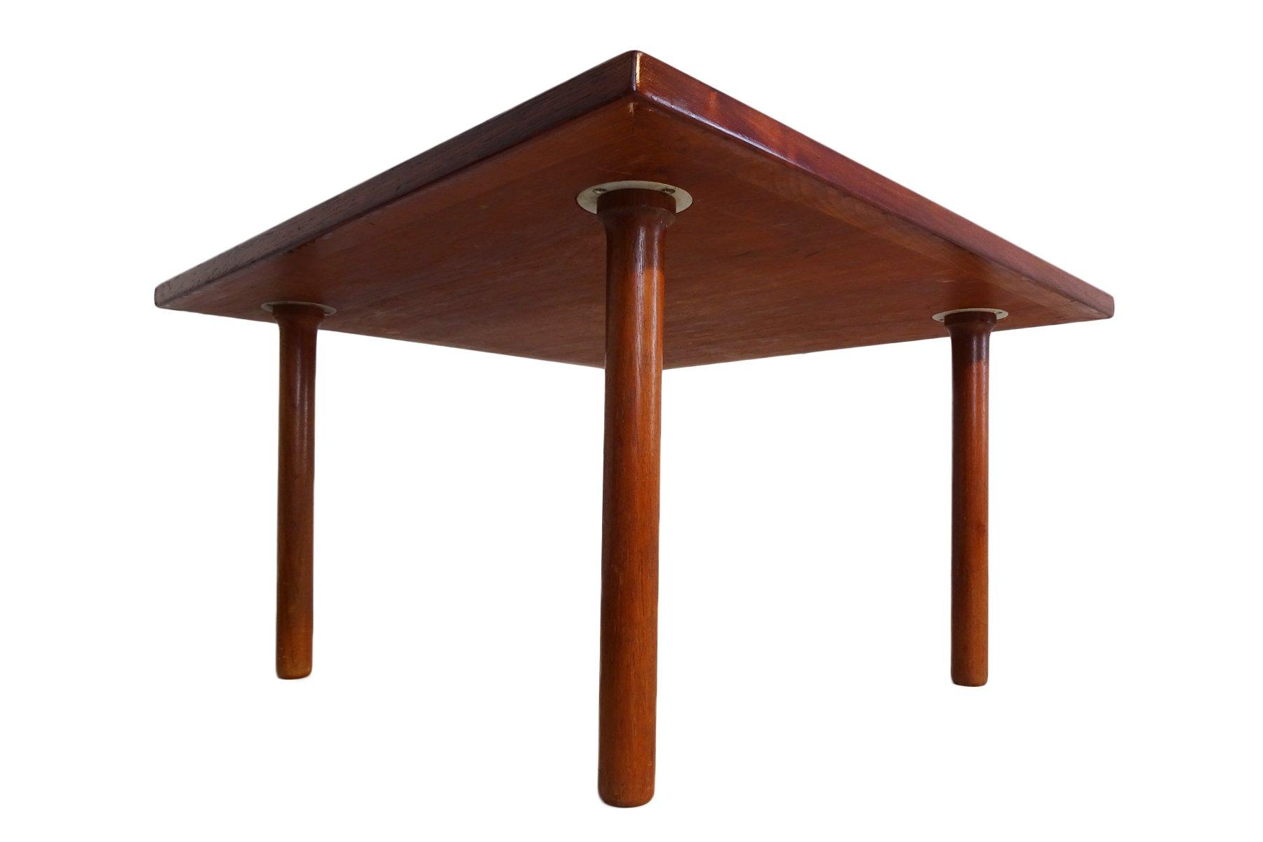 couch oder beistelltisch aus teak von hans j wegner f r andreas tuck 1950er bei pamono kaufen. Black Bedroom Furniture Sets. Home Design Ideas