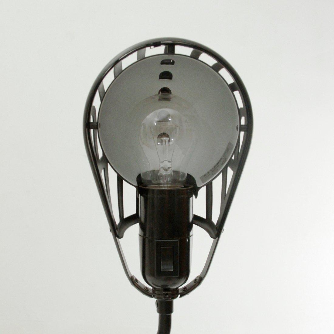 schwarze igloo schreibtischlampe aus metall von tommaso. Black Bedroom Furniture Sets. Home Design Ideas