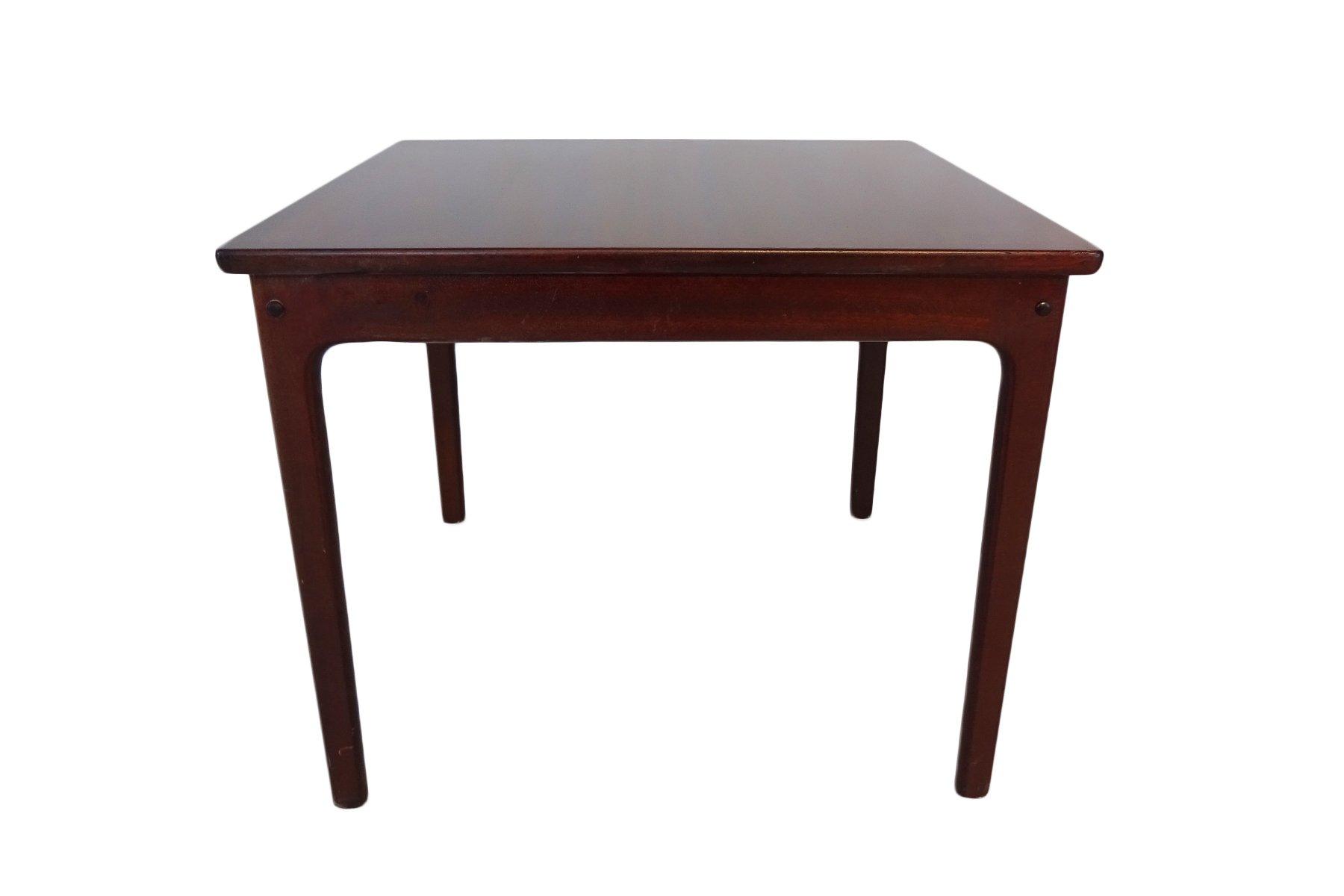 couch oder beistelltisch aus mahagoni von ole wanscher f r poul jeppesens m belfabrik 1965 bei. Black Bedroom Furniture Sets. Home Design Ideas