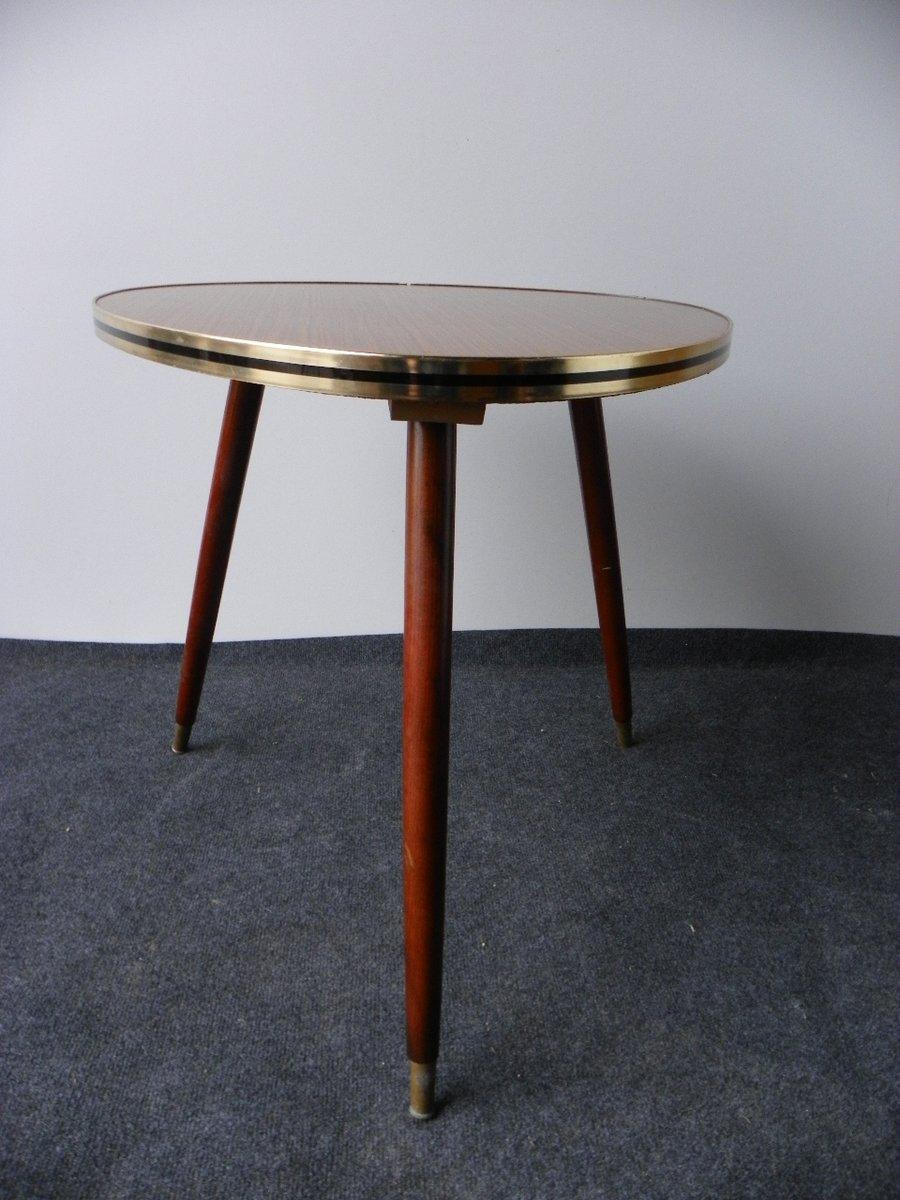 table basse vintage tripode 1950s en vente sur pamono. Black Bedroom Furniture Sets. Home Design Ideas