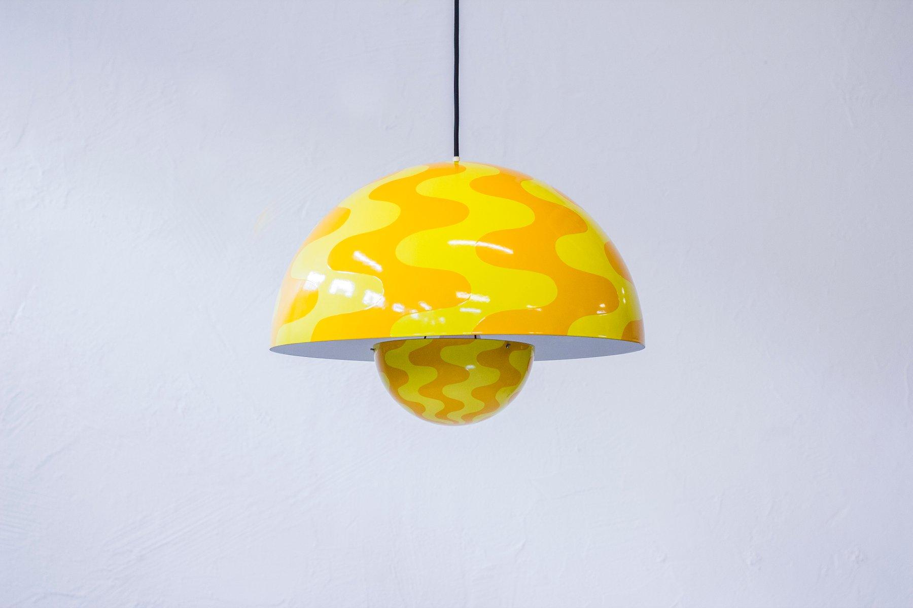 Große Deckenlampe von Verner Panton für Louis Poulsen, 1970er