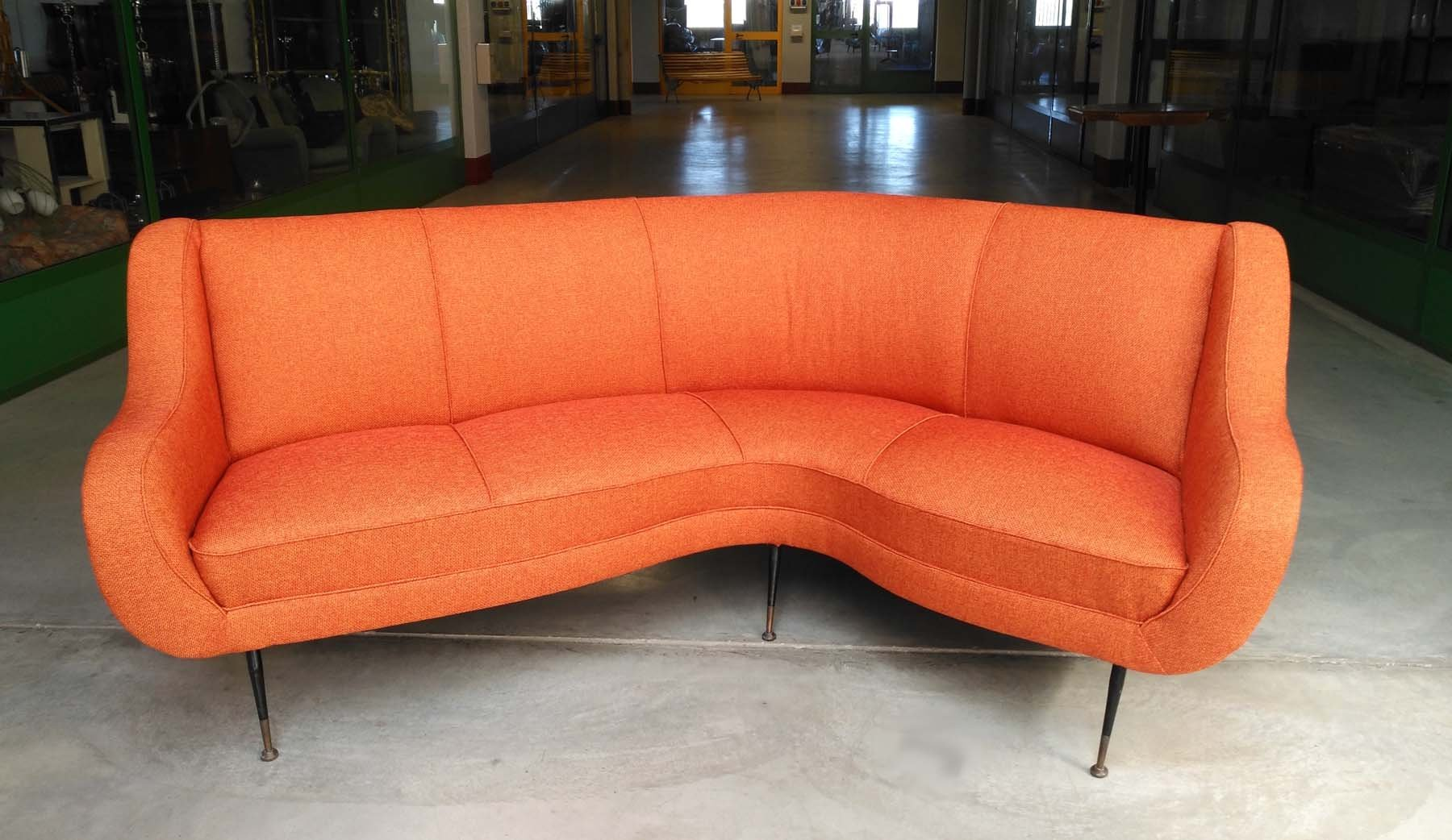 Curved Sofa 1950s