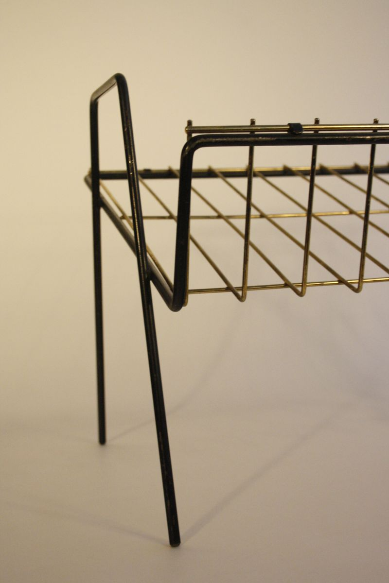 Wire Magazine Rack, 1960s for sale at Pamono