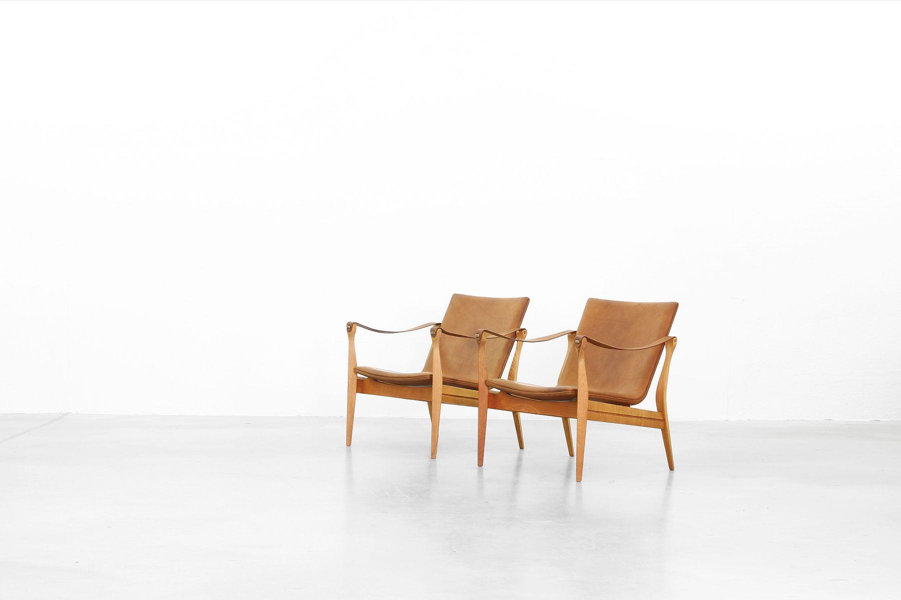 Safari Sessel Von Ebbe Und Karen Clemmensen Für Fritz Hansen 1958