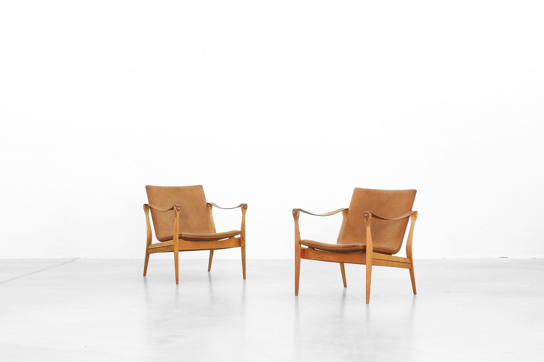 Safari Sessel von Ebbe und Karen Clemmensen für Fritz Hansen, 1958, 2e...