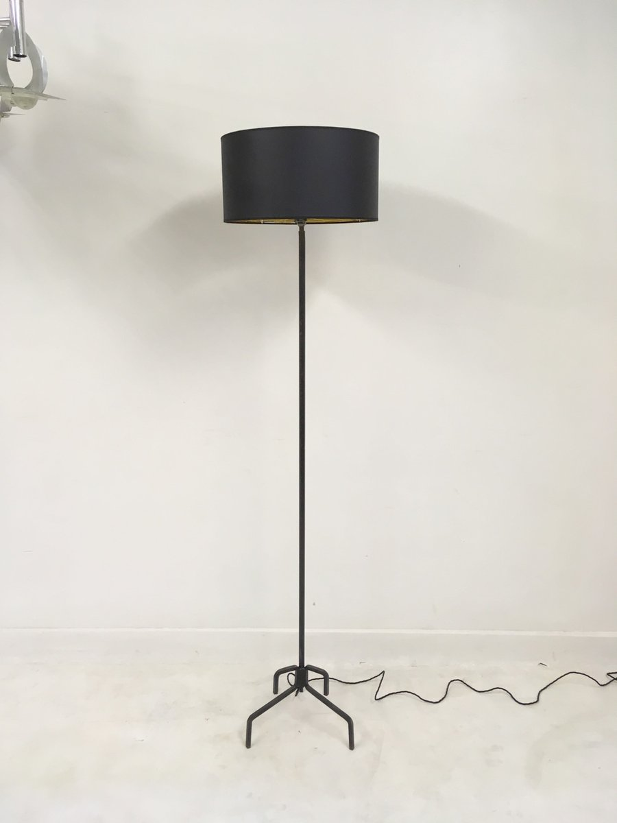 French Wrought Iron Floor Lamp 1950s For Sale At Pamono