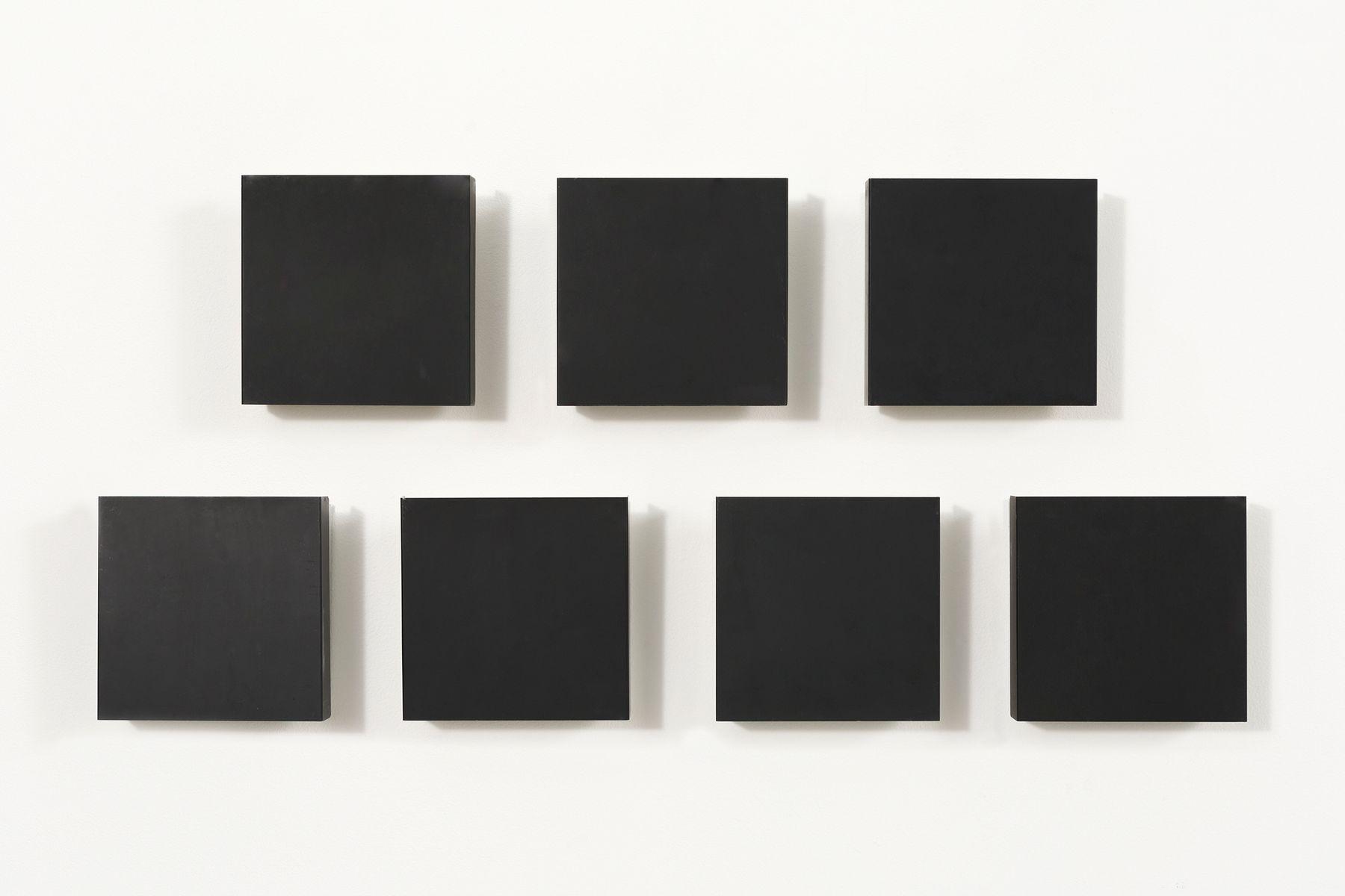 Quadratische Wandleuchten von Charlotte Perriand, 1960er, 7er Set