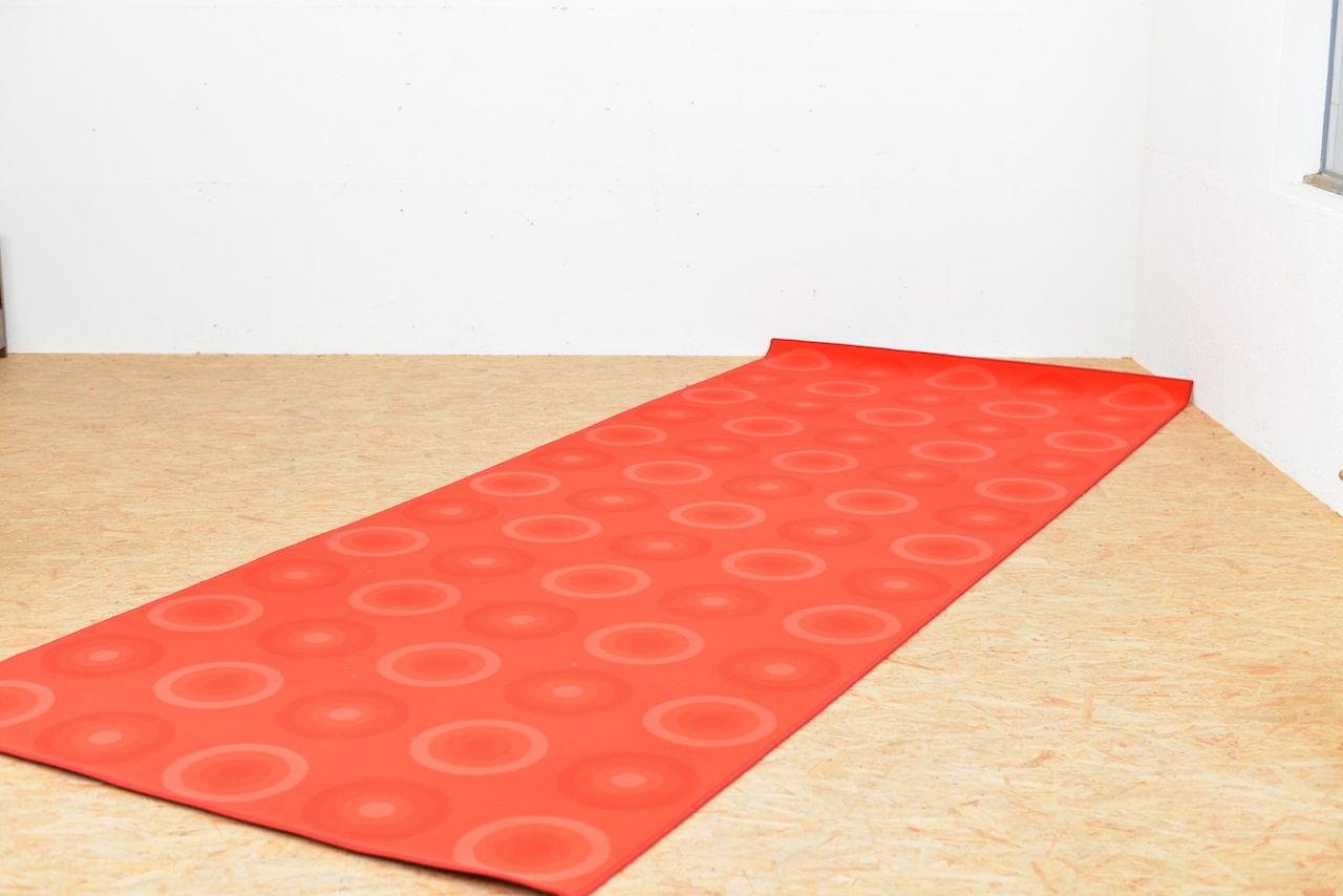 red teppich von verner panton f r mira x 1971 bei pamono kaufen. Black Bedroom Furniture Sets. Home Design Ideas