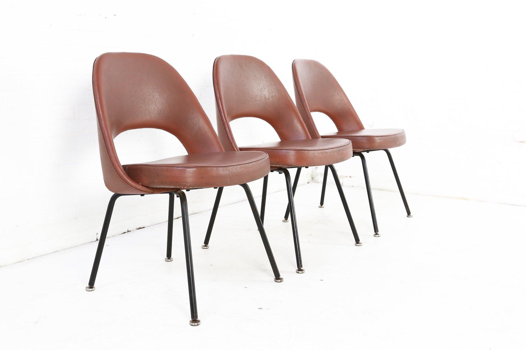 series 71 stuhl von eero saarinen f r knoll international 1960er bei pamono kaufen. Black Bedroom Furniture Sets. Home Design Ideas