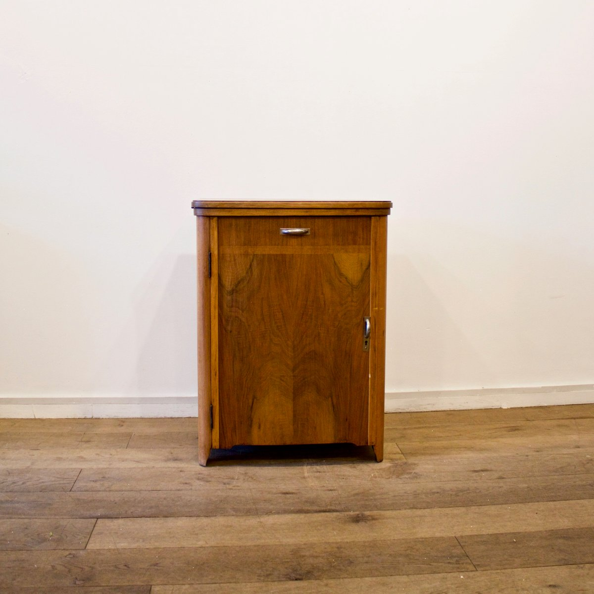 Sewing Machine Cabinet From Singer, 1950s