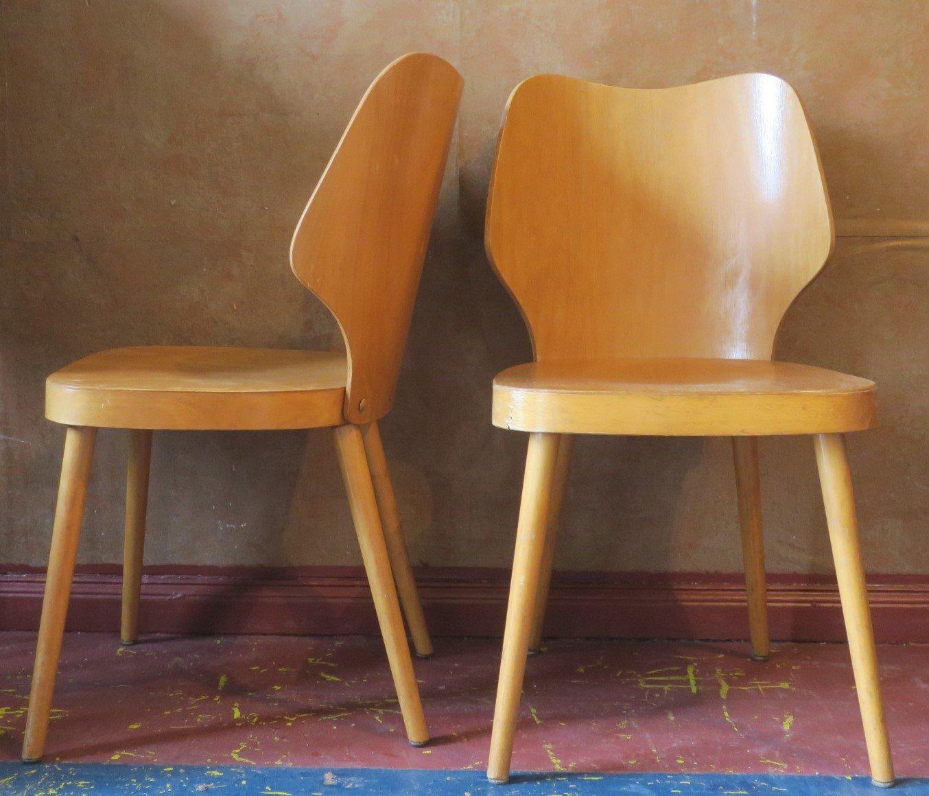 Skandinavischer schichtholz stuhl mit gebogener - Skandinavischer stuhl ...