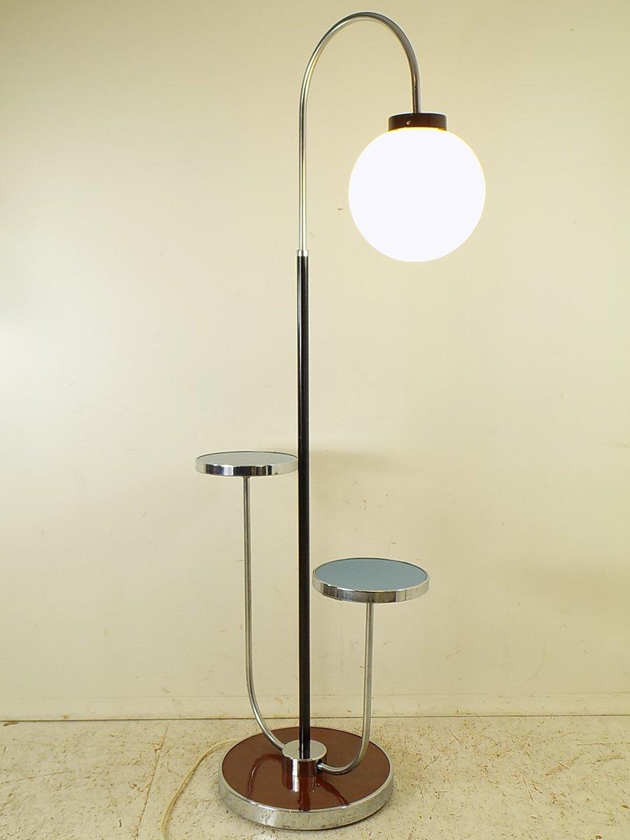 Vintage Stehlampe von Jind?ich Halabala