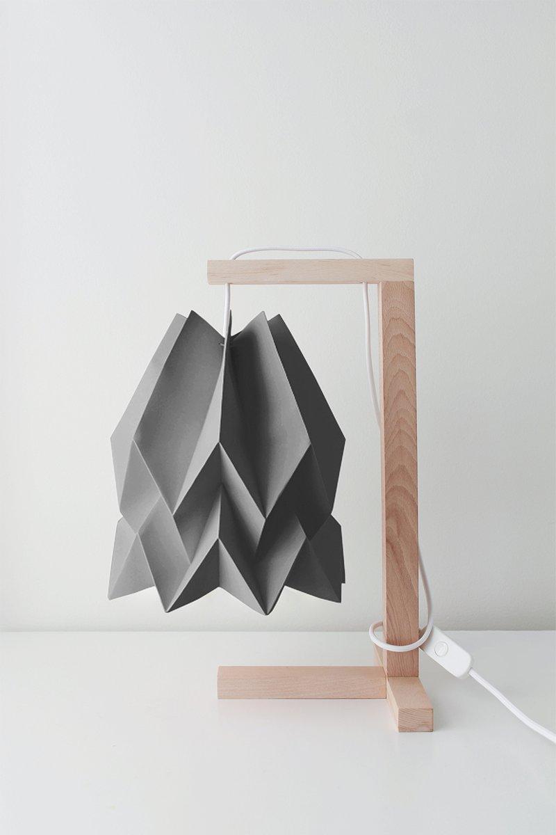 Tischlampe in Alpine Grey von Orikomi