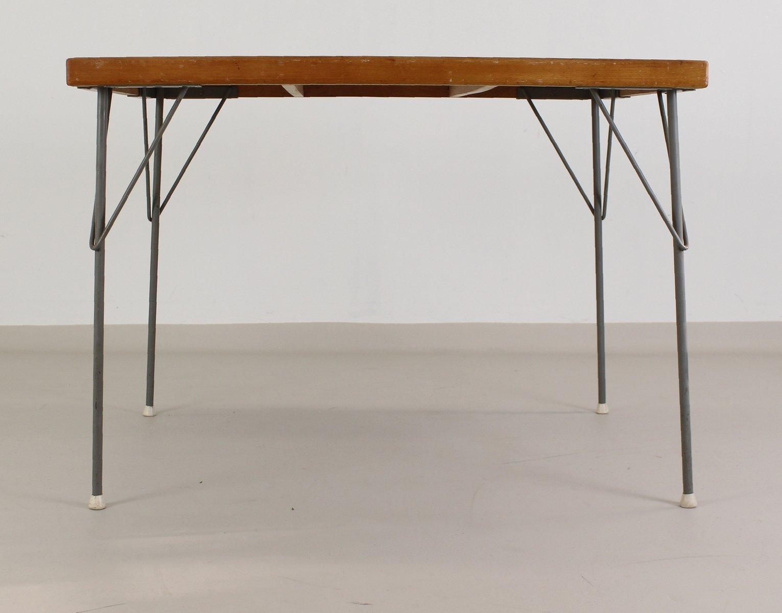 Industrieller Modell 53 Esstisch von Wim Rietveld für Gispen, 1960er