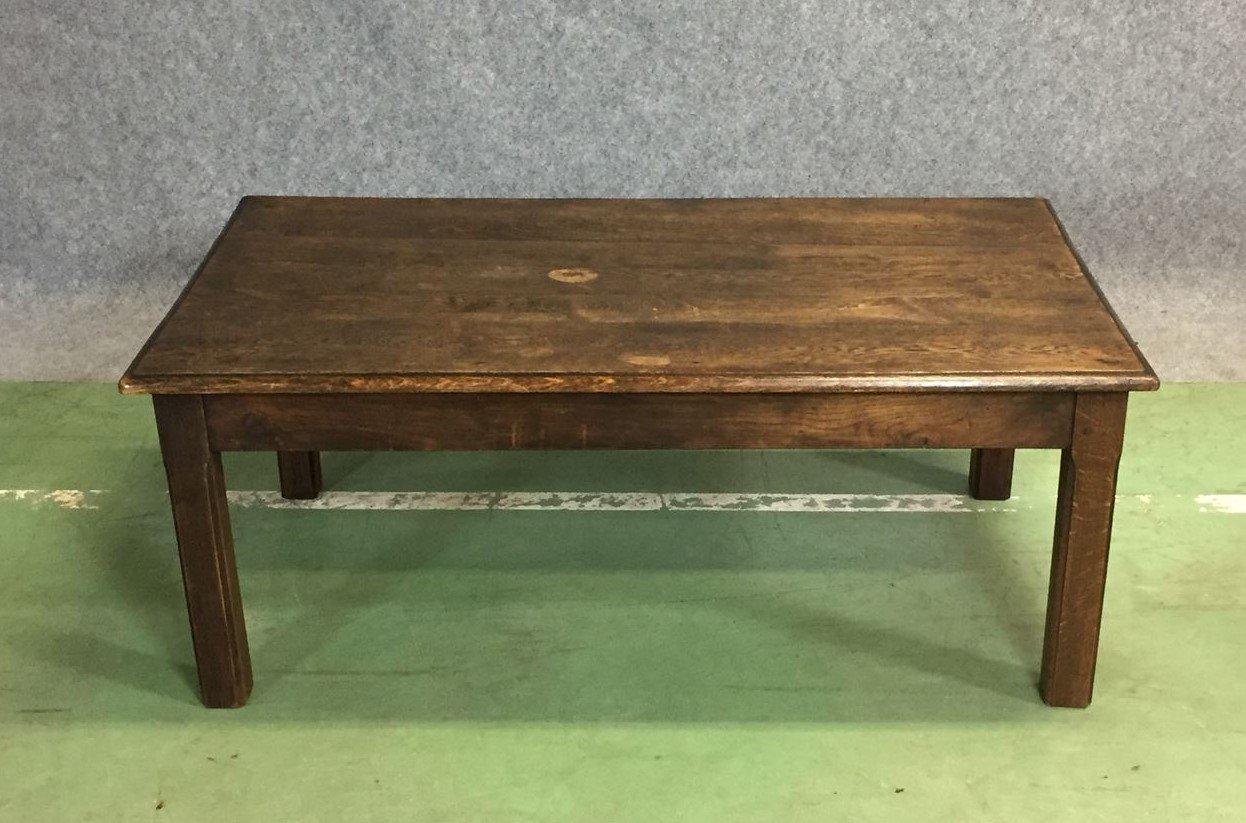 Vintage Eichenholz Couchtisch