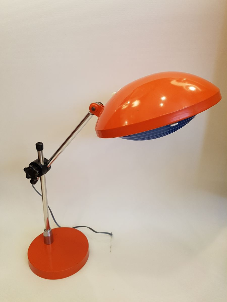 Industrielle Schreibtischlampe von Ferdinand Solere, 1960er