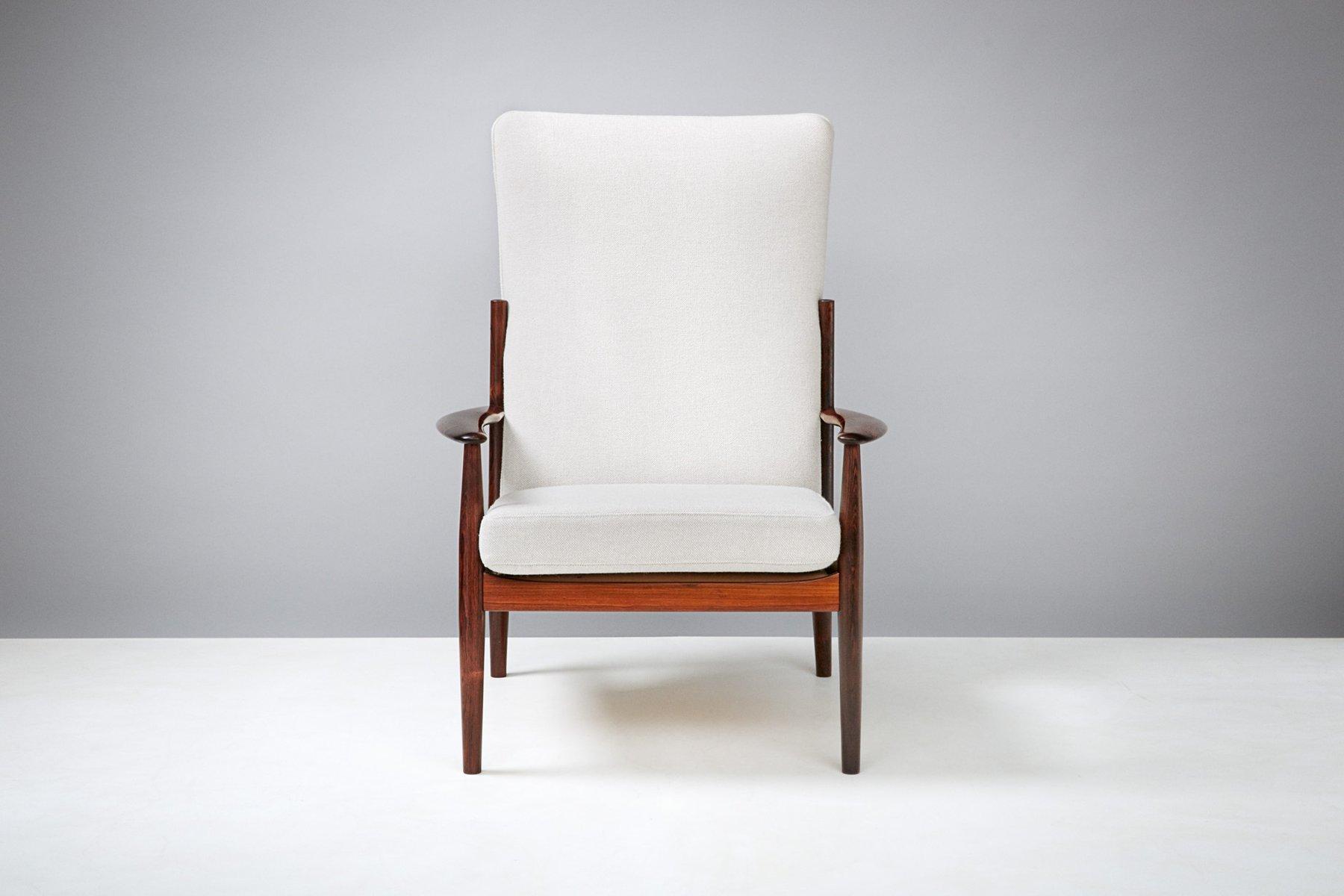 Brilliant Sessel Hohe Rückenlehne Beste Wahl Vintage Mit Hoher Rückenlehne Von Grete Jalk