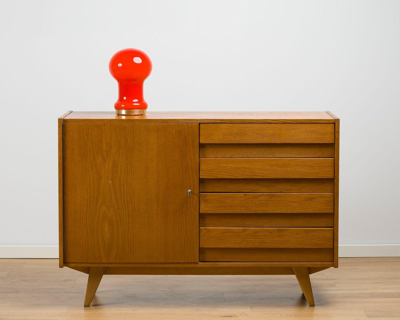 lampe de bureau rouge 1960s en vente sur pamono. Black Bedroom Furniture Sets. Home Design Ideas