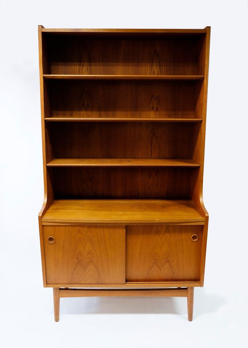 Danish Bookshelf By Johannes Sorth For Bornholm 1970s