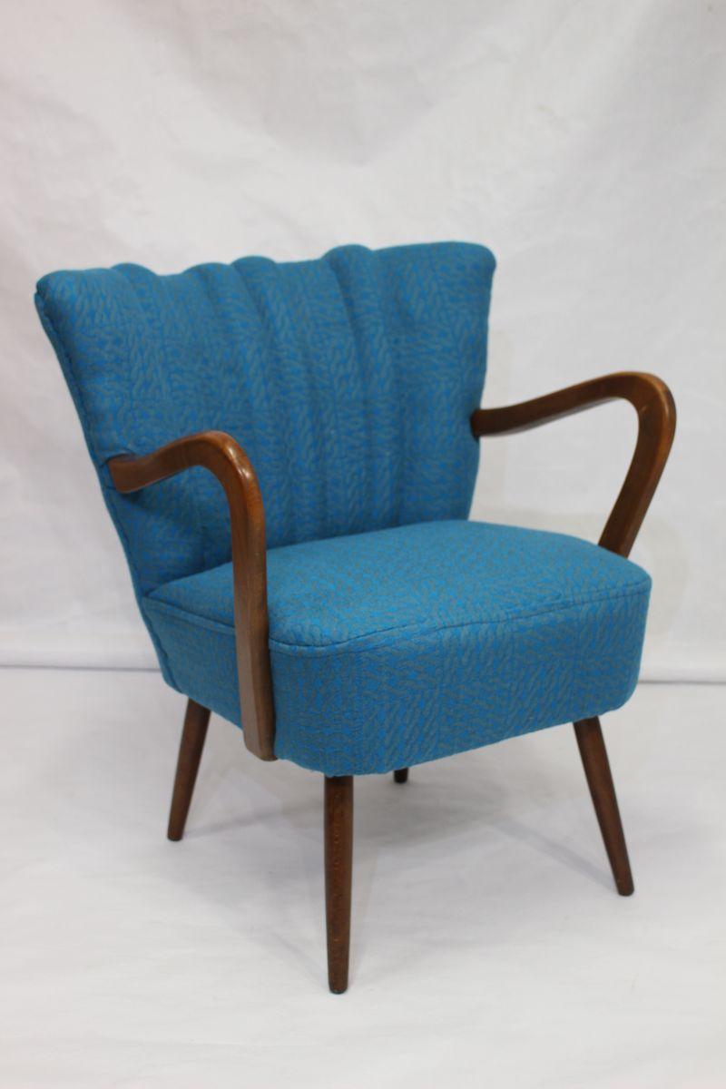 vintage sessel in sonia rykiel stoff 1950er bei pamono kaufen. Black Bedroom Furniture Sets. Home Design Ideas
